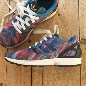 Adidas Torsion ZX Flux sneakers sz 6.5 Youths
